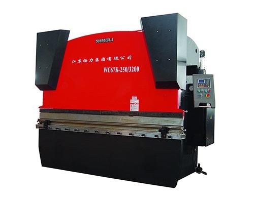 WC67K系列經濟型數控液壓板料折彎機