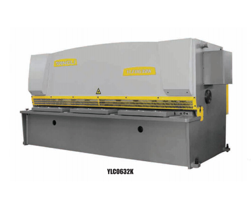 YLCK系列數控液壓閘式剪板機