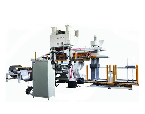 YLK系列空調翅片高速沖壓自動化生產線