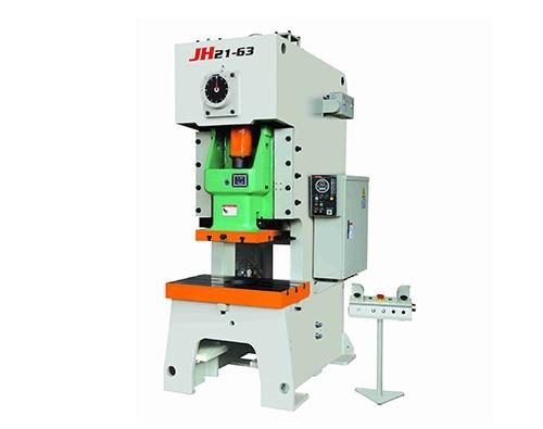 JH21係列開式單點高性能壓力機 了解產品 JF21係列開式固定台壓力機