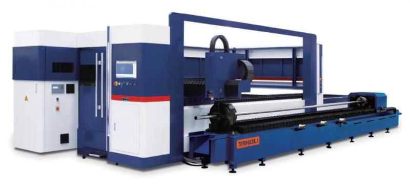 GL係列板管複合數控光纖激光切割機